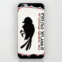 Phantom Of Paradise : Swan Song iPhone Skin
