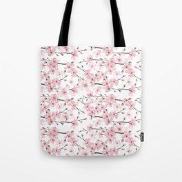 Watercolor cherry blossom Tote Bag