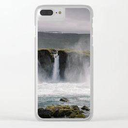 Waterfall 02 - Iceland Clear iPhone Case