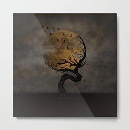 Moon Embrace Metal Print