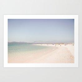 At the Beach (three) Art Print