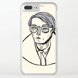 'I Am A Deeply Superficial Person' Clear iPhone Case