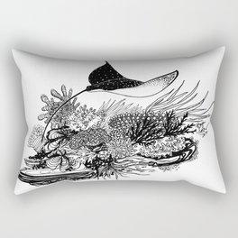 Eagle Ray Rectangular Pillow