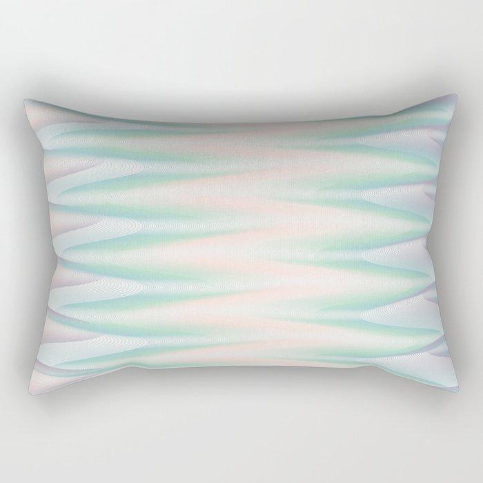 Melted Ice Cream Rectangular Pillow