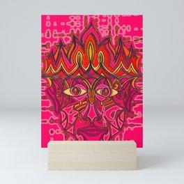Fire God Mini Art Print