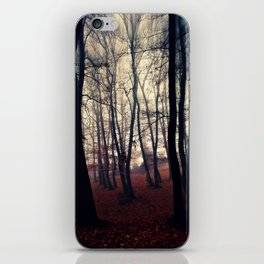 Horror Forest iPhone Skin