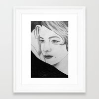 gatsby Framed Art Prints featuring Gatsby by Channel Silver