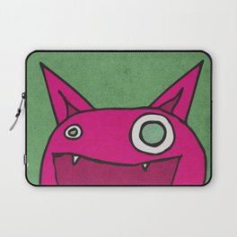 Slightly Amused Monsters, IX Hot Pink Laptop Sleeve