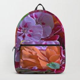Basket of Geraniums Backpack