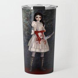 Alice Madness Returns Hysteria Game Design Travel Mug