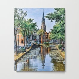 Postcards of Holland Metal Print