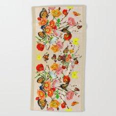 Butterfly Bouquet  Beach Towel