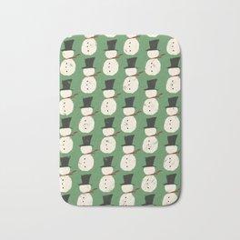 Jolly Green Snowguys Bath Mat