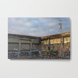 Veil Metal Print