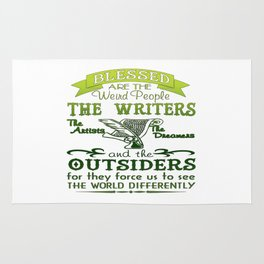 Writers, Artists, Dreamers Rug