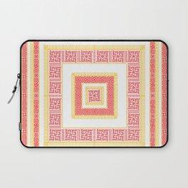 Slavic Square Mandala - Odolen Trava - Symbol Laptop Sleeve