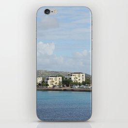 Bonaire Kralendijk Harbor Sailing Boats iPhone Skin