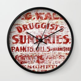 Sundries Wall Clock