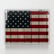 Patriotic Wood Texture #1 Laptop & iPad Skin