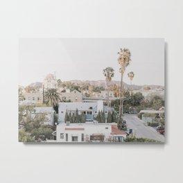 Hollywood California Metal Print
