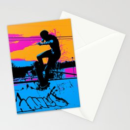 On Edge - Skateboarder Stationery Cards