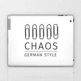 Chaos: German Style Laptop & iPad Skin