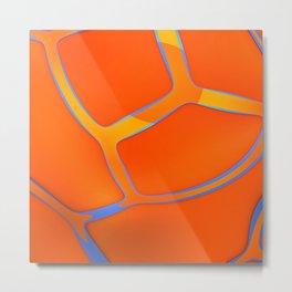 Nothing Rhymes With Orange Metal Print