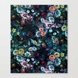 Night Garden Canvas Print