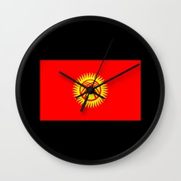 Kg Flag Wall Clock