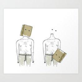 Bag it! Art Print