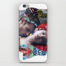 Klimt Kiss Collage iPhone Skin