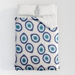 Evil Eye Teardrop Comforters
