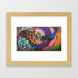 """""""A sweeter melody"""" The fifth chakra Framed Art Print"""