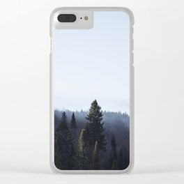 Morning in Tremblat Clear iPhone Case