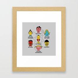 Mr. and Little Miss TBBT Framed Art Print