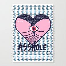 Asshole (Part II) Canvas Print