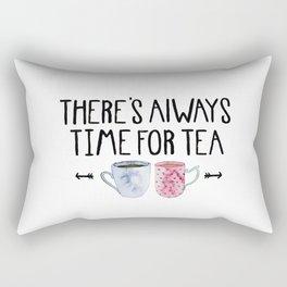 Always Time For Tea! Rectangular Pillow