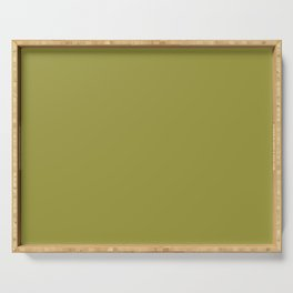 Pantone 16-0543 Golden Lime Serving Tray