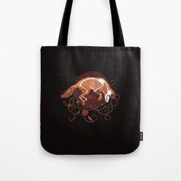 Dark Fox Tote Bag