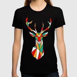 deer low polygon T-shirt