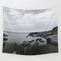 denmark Wall Tapestries featuring In the north by UtArt