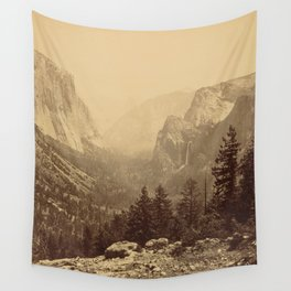Yosemite Valley from Inspiration Point Wall Tapestry