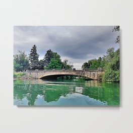 Black Creek Bridge Metal Print