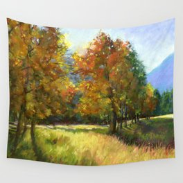 Mt. Princeton Golden Hour Wall Tapestry