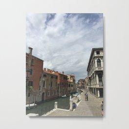 Venice Canale Metal Print