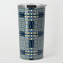 Deep Wata - Gingham Travel Mug