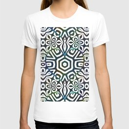 Love in the Black and White Structures T-shirt