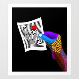 OpartBrief Art Print