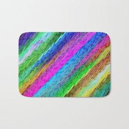 Colorful digital art splashing G478 Bath Mat