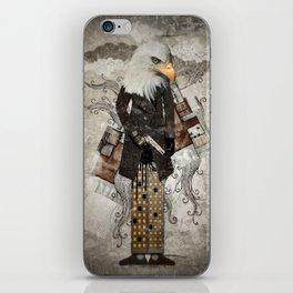 Secret Agent Eagle One iPhone Skin